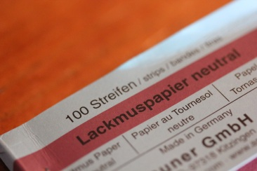 Teststreifen Lackmuspapier